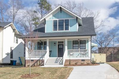 Durham Single Family Home For Sale: 1314 Lancaster Street