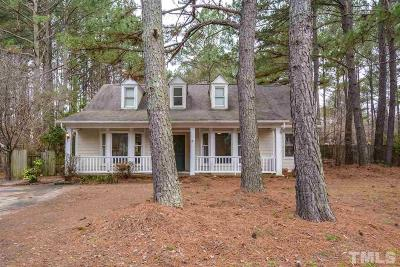 Raleigh NC Single Family Home For Sale: $175,000