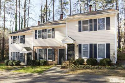Raleigh NC Condo For Sale: $145,000