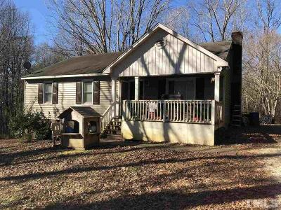 Clayton NC Single Family Home For Sale: $159,000
