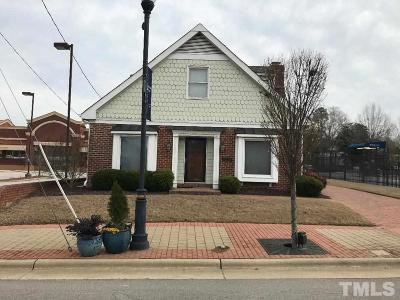 Wake County Commercial For Sale: 308 N Arendell Avenue