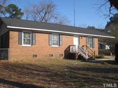 Harnett County Single Family Home Pending: 3508 Meadowlark Road