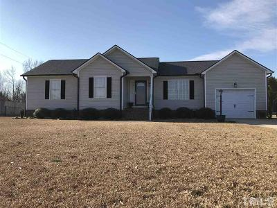 Sampson County Single Family Home Pending: 859 Obj Road