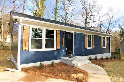 Raleigh Single Family Home For Sale: 7408 Archer Circle