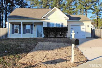 Raleigh Single Family Home For Sale: 3709 Fan Palm Court