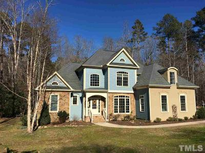 Pittsboro Single Family Home For Sale: 795 Cedar Grove Road