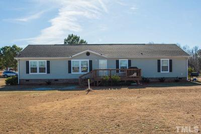 Willow Spring(S) Single Family Home For Sale: 1633 White Memorial Church Road