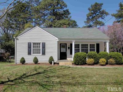 Wake County Single Family Home For Sale: 108 Plainview Avenue