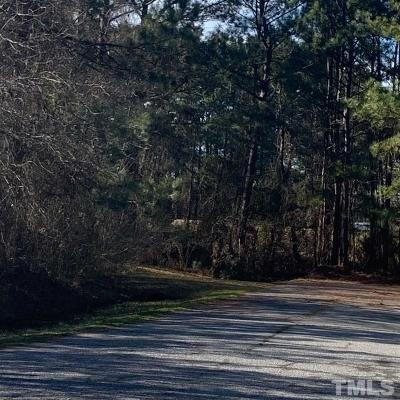 Johnston County Residential Lots & Land For Sale: W Goldsboro Street