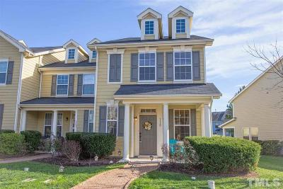 Cary Townhouse For Sale: 119 Point Comfort Lane