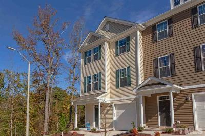 Morrisville Townhouse For Sale: 1122 Myers Point Drive