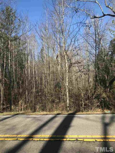 Wake County Residential Lots & Land For Sale: 4830 Optimist Farm Road
