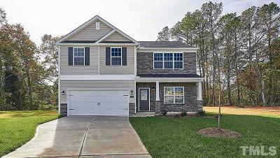 Clayton NC Single Family Home For Sale: $251,990