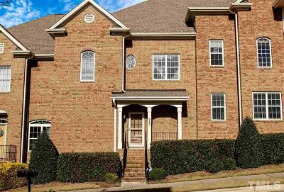 Apex Townhouse For Sale: 445 Heritage Village Lane