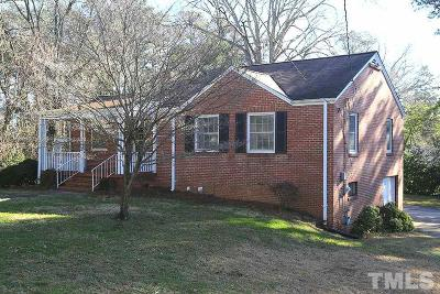 Raleigh Single Family Home Pending: 1002 Brooks Avenue