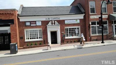 Wake County Commercial For Sale: 123 S White Street