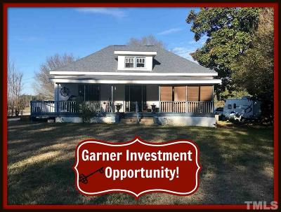 Raleigh Single Family Home Pending: 1801 E Garner Road