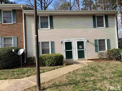 Cary Townhouse For Sale: 1028 Nottingham Court