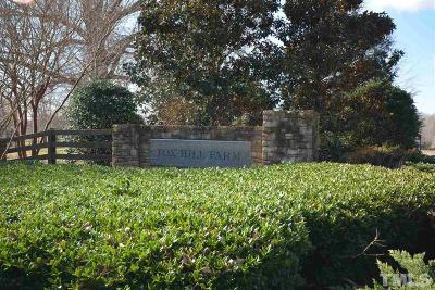 Orange County Residential Lots & Land For Sale: Lot #177 Fox Hill Farm Drive