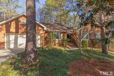 Carrboro Single Family Home Pending: 400 Berryhill Drive
