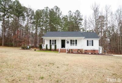Clayton Single Family Home For Sale: 207 Virginia Pine Drive