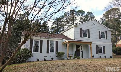 Raleigh Single Family Home For Sale: 4825 Latimer Road