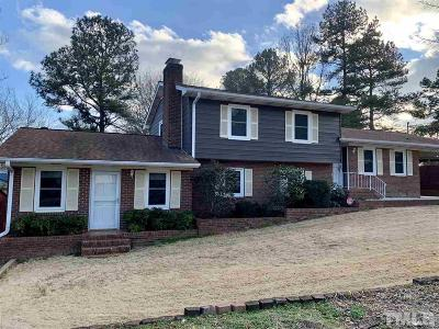 Wake County Single Family Home For Sale: 900 Knollwood Drive
