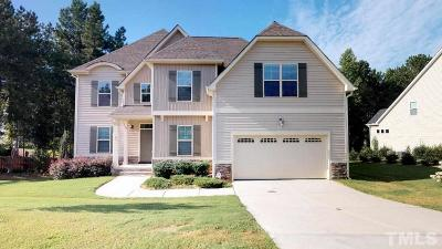 Clayton Single Family Home For Sale: 91 Foxtail Court
