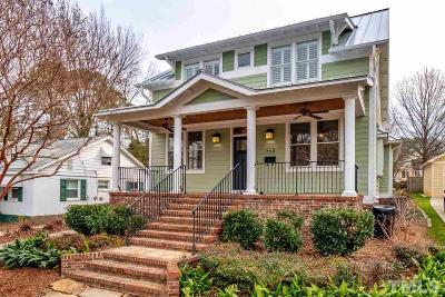 Raleigh Single Family Home For Sale: 712 Latta Street