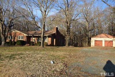 Mebane Single Family Home For Sale: 1536 Trollingwood Hawfields Road
