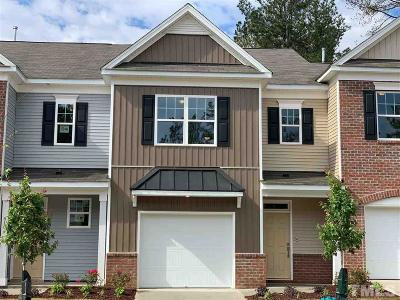 Wake County Townhouse For Sale: 6102 Beale Loop #104- Dar