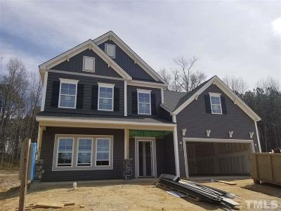 Knightdale Single Family Home For Sale: 4717 Sleepy Falls Run #Lot 45