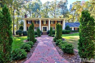 Durham Single Family Home For Sale: 12 Butterwick Place