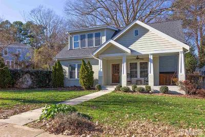 Raleigh Single Family Home Contingent: 2009 Noble Road