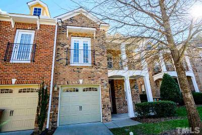 Cary Townhouse For Sale: 1015 Remington Oaks Circle