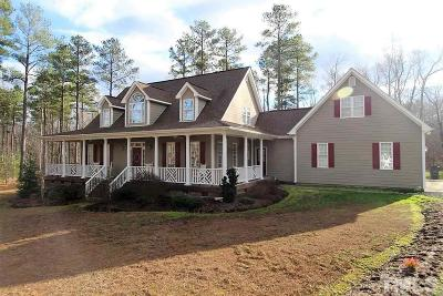 Granville County Single Family Home For Sale: 1218 Tunstall Trail