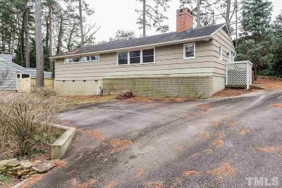 Wake County Single Family Home For Sale: 3465 Leonard Street