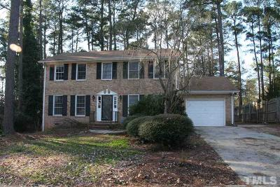 Raleigh NC Single Family Home For Sale: $305,000