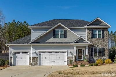 Knolls At The Neuse Single Family Home For Sale: 121 Summit Overlook Drive
