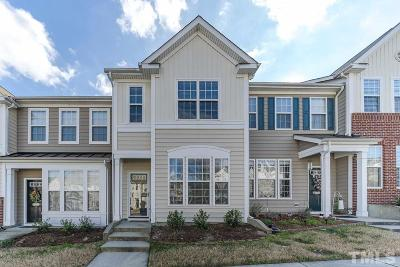 Raleigh Townhouse For Sale: 5335 Silver Moon Lane