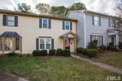 Raleigh Townhouse Contingent: 6705 Twin Tree Court