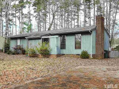Cary NC Single Family Home For Sale: $185,000
