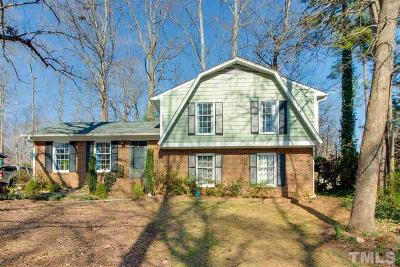 Cary Single Family Home Contingent: 705 Delmar Road