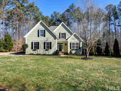 Raleigh Single Family Home For Sale: 9805 Chris Drive