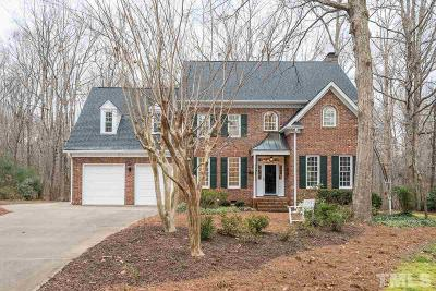 Cary Single Family Home Contingent: 121 Buckden Place