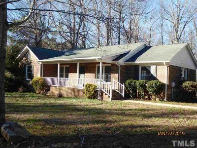 Mebane Single Family Home For Sale: 3948 Marys Grove Church Road