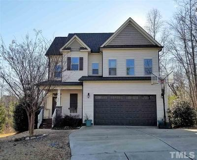 Clayton Single Family Home For Sale: 378 North Farm Drive