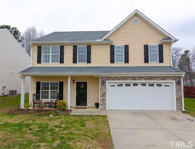 Knightdale Single Family Home Contingent: 408 Morganite Court