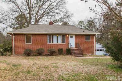 Durham Single Family Home Contingent: 325 Hocutt Road