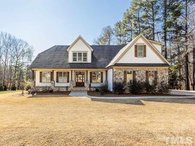 Raleigh Single Family Home For Sale: 2032 Bowling Green Trail